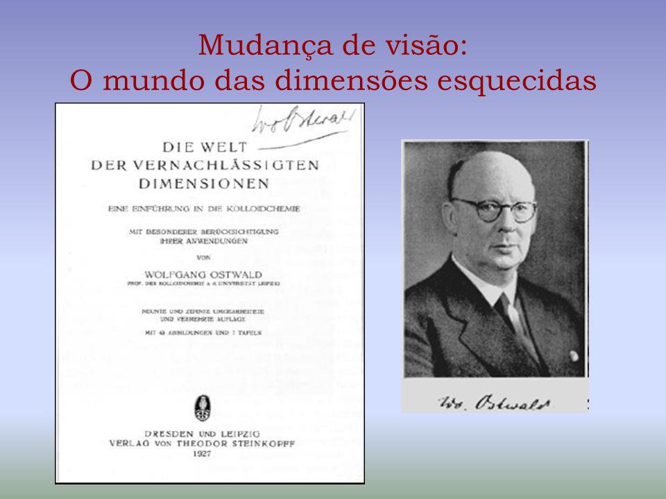 Mudança de visão: O mundo das dimensões esquecidas