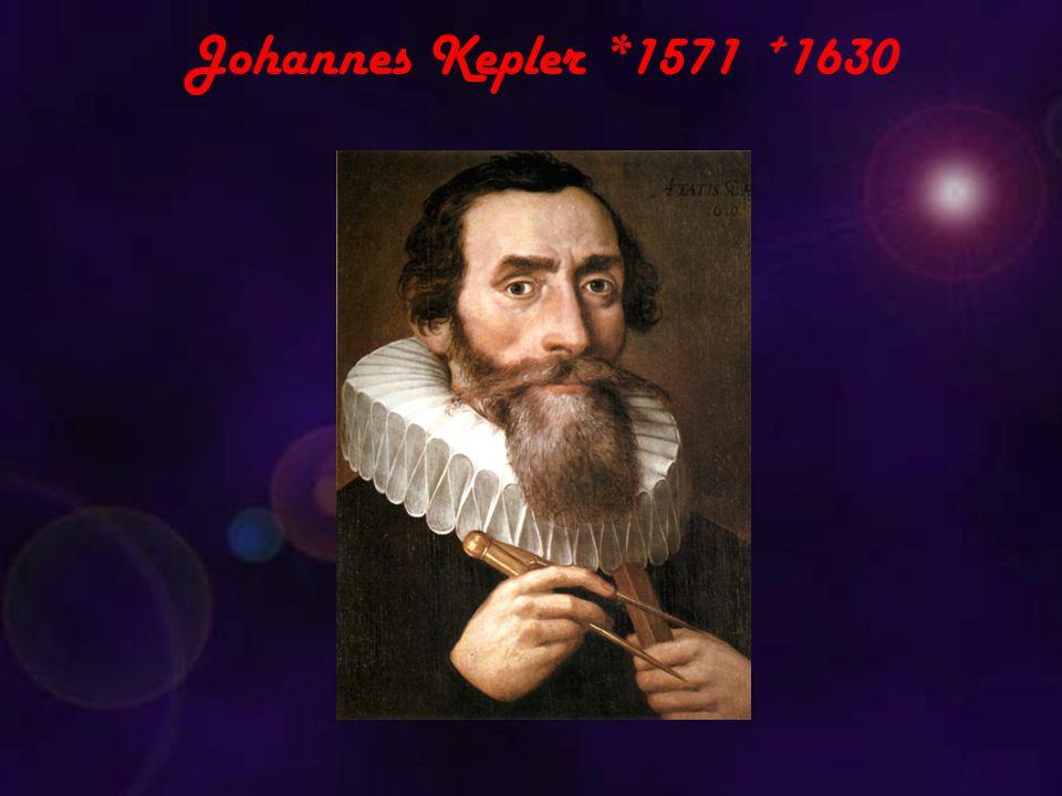 Johannes Kepler *1571 +1630