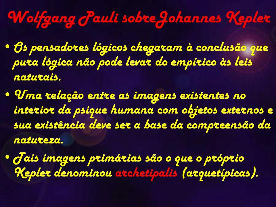 Wolfgang Pauli sobreJohannes Kepler