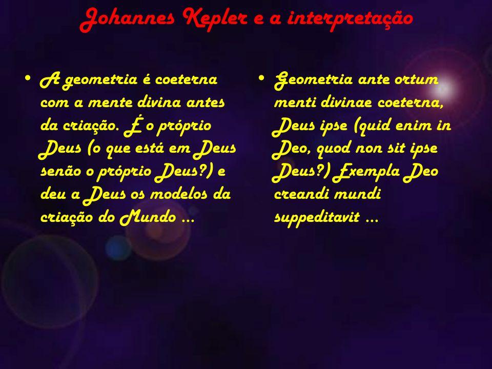Johannes Kepler e a interpretação
