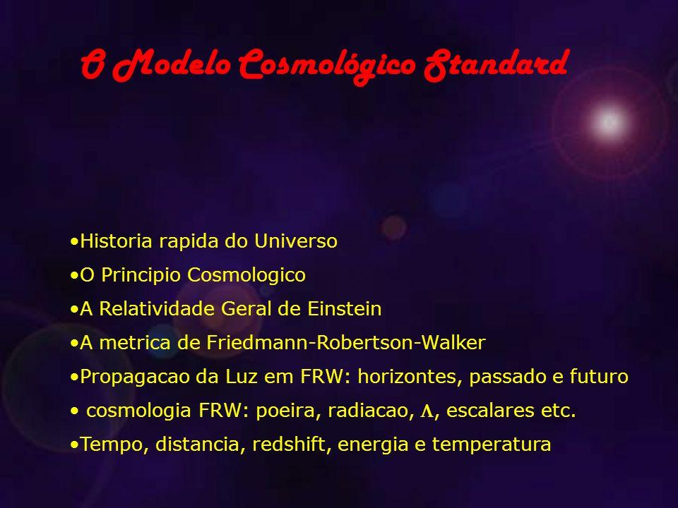 O Modelo Cosmológico Standard