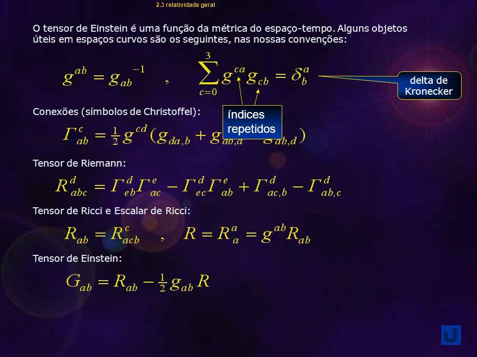 2.3 relatividade geral