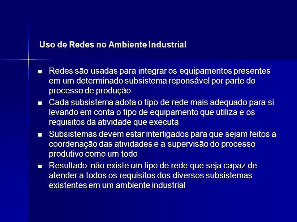 Uso de Redes no Ambiente Industrial