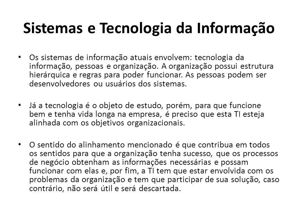 Sistemas e Tecnologia da Informação
