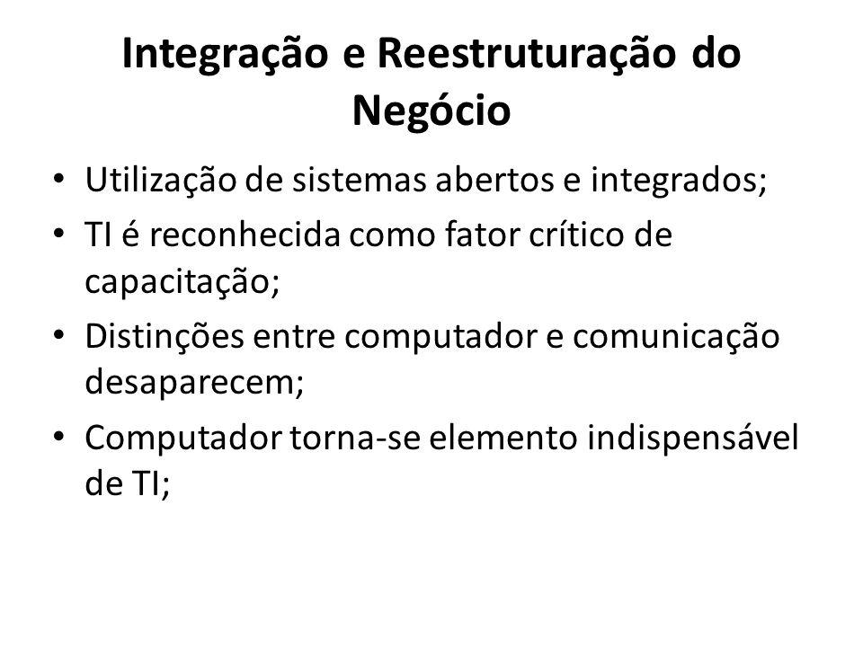 Integração e Reestruturação do Negócio