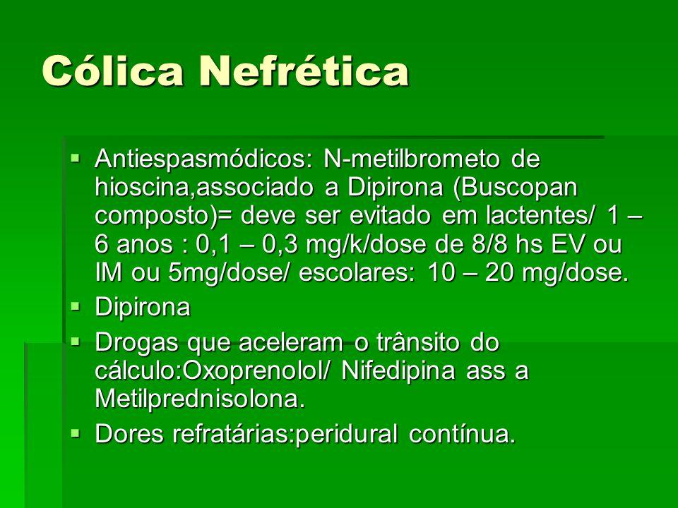 Cólica Nefrética