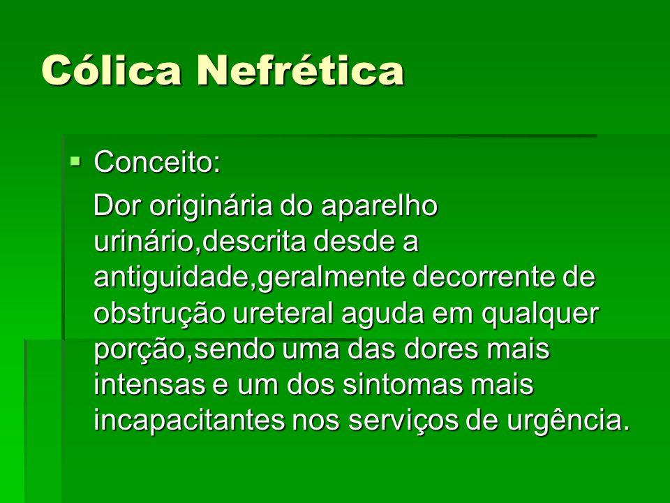 Cólica Nefrética Conceito: