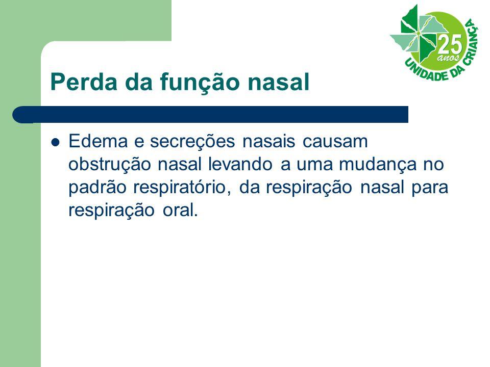 Perda da função nasal
