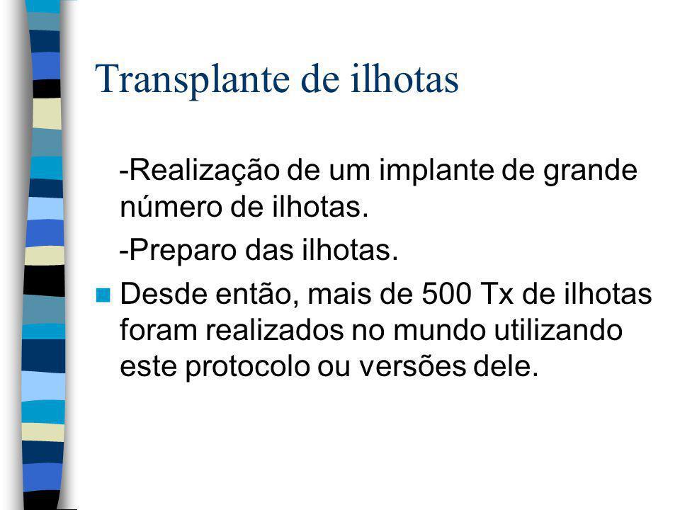 Transplante de ilhotas