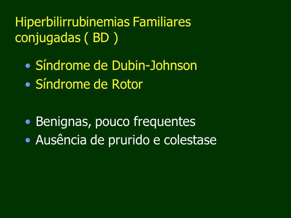 Hiperbilirrubinemias Familiares conjugadas ( BD )