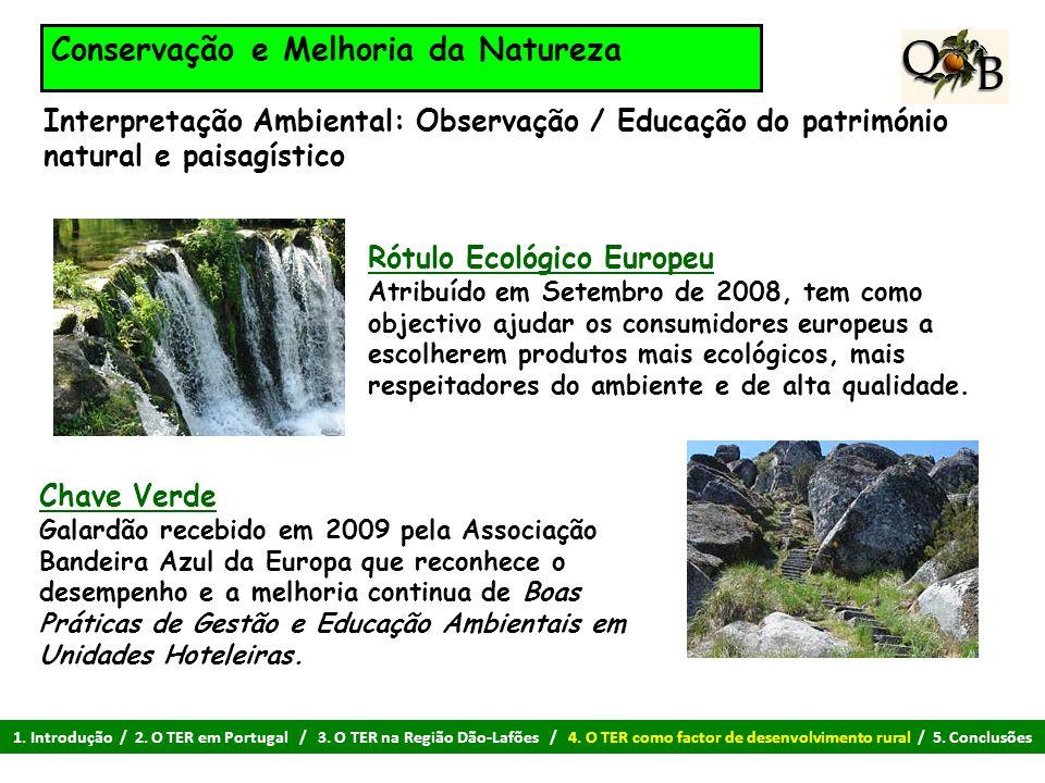 Conservação e Melhoria da Natureza