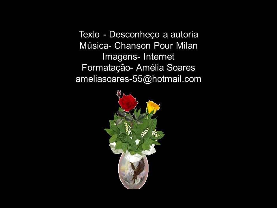 Texto - Desconheço a autoria Música- Chanson Pour Milan Imagens- Internet Formatação- Amélia Soares ameliasoares-55@hotmail.com