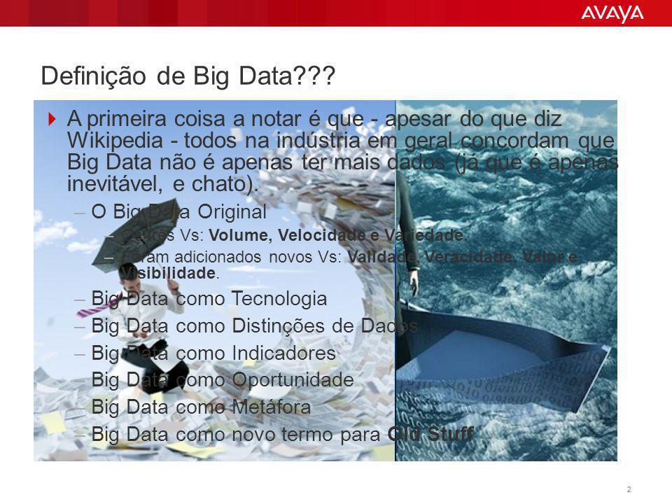 Definição de Big Data