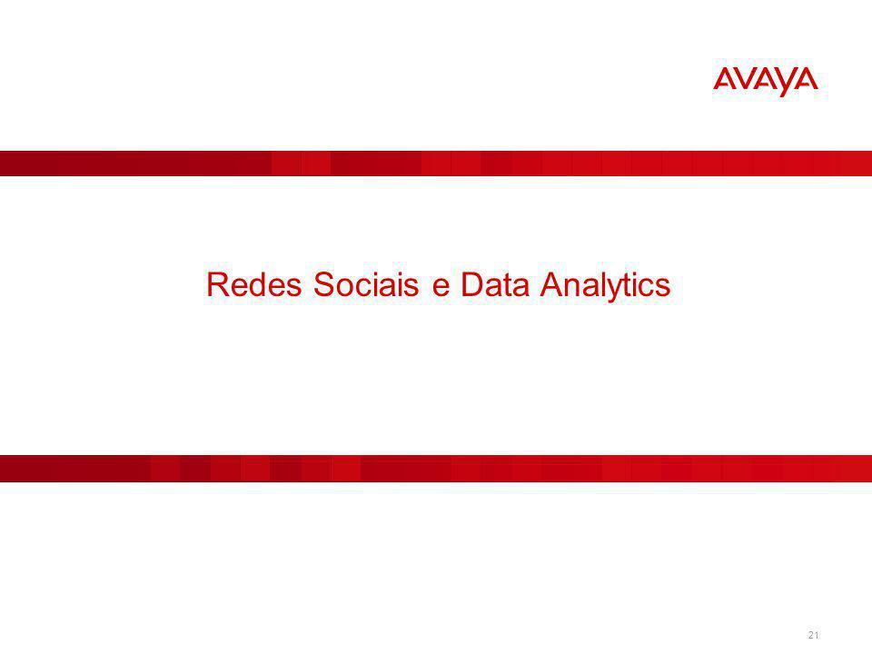 Redes Sociais e Data Analytics