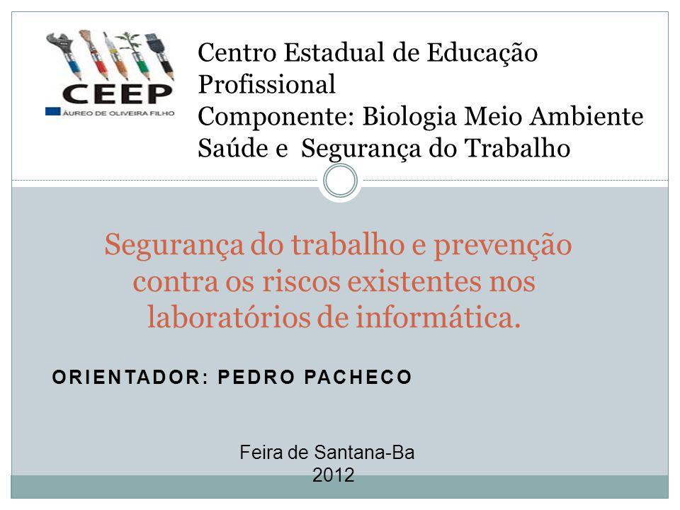 Orientador: Pedro Pacheco