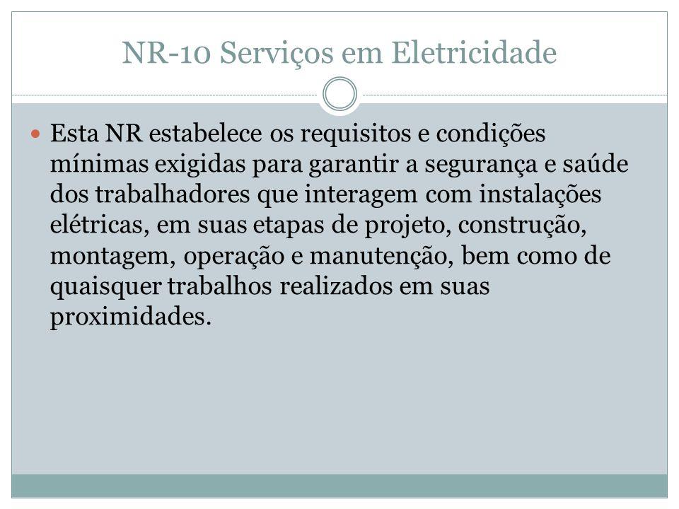 NR-10 Serviços em Eletricidade