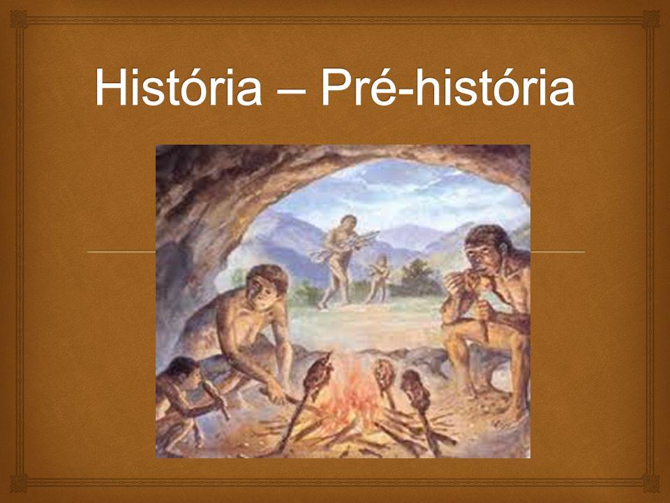 História – Pré-história
