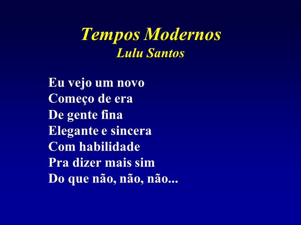 Tempos Modernos Lulu Santos