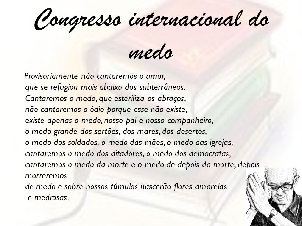 Congresso internacional do medo
