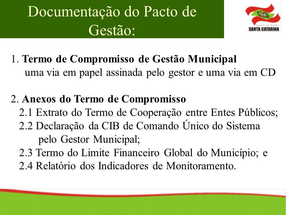 Documentação do Pacto de Gestão: