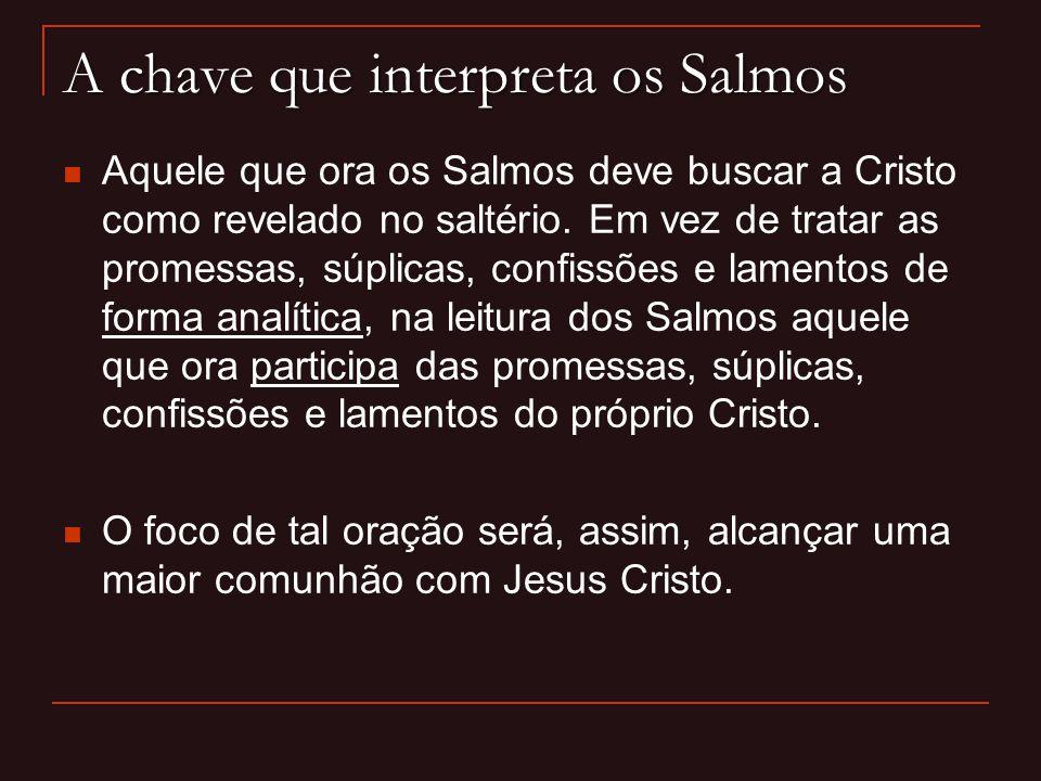 A chave que interpreta os Salmos