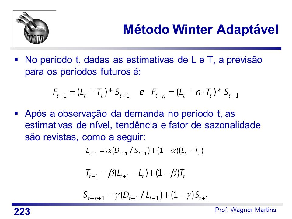 Método Winter Adaptável