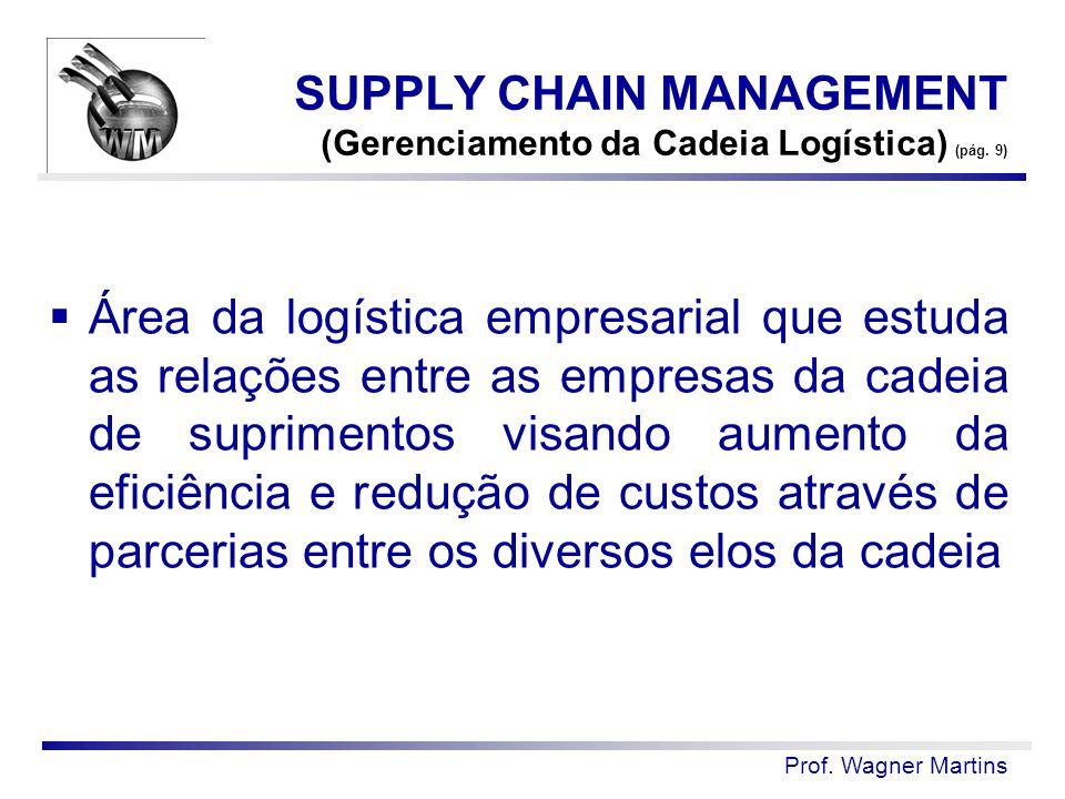 SUPPLY CHAIN MANAGEMENT (Gerenciamento da Cadeia Logística) (pág. 9)