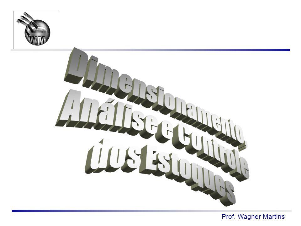 Dimensionamento, Análise e Controle dos Estoques