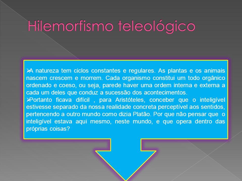 Hilemorfismo teleológico