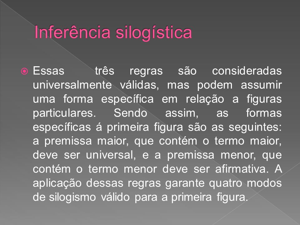 Inferência silogística
