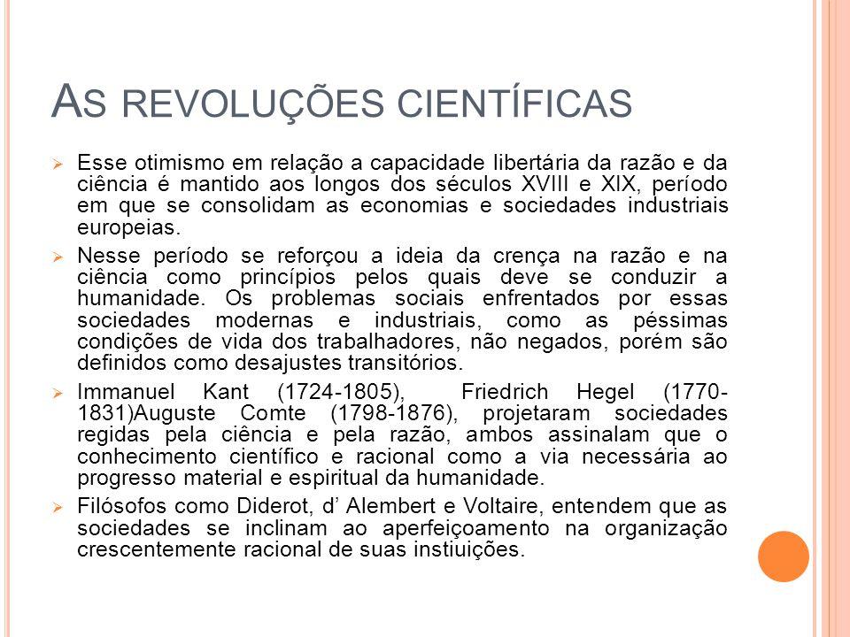 As revoluções científicas
