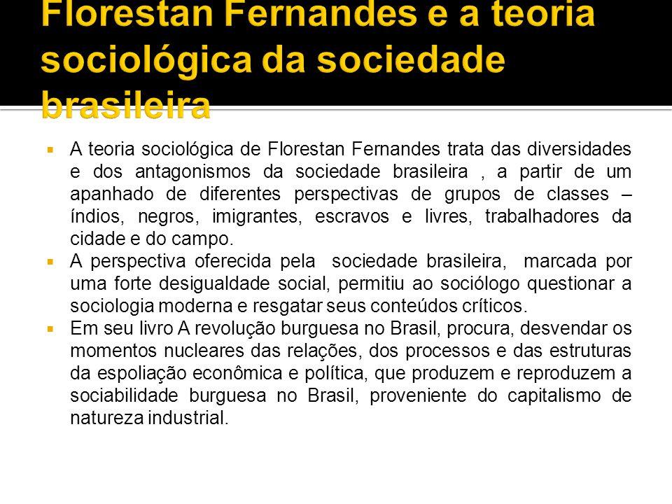 Florestan Fernandes e a teoria sociológica da sociedade brasileira