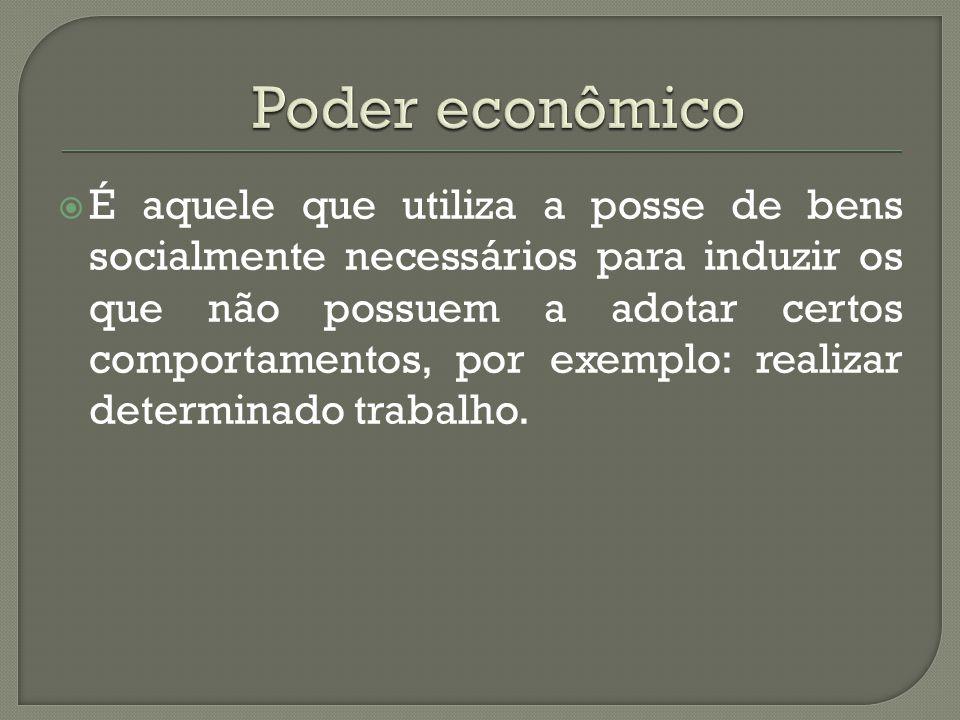 Poder econômico