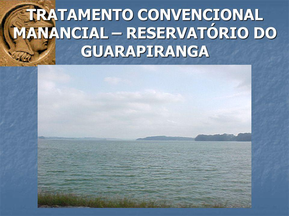 TRATAMENTO CONVENCIONAL MANANCIAL – RESERVATÓRIO DO GUARAPIRANGA
