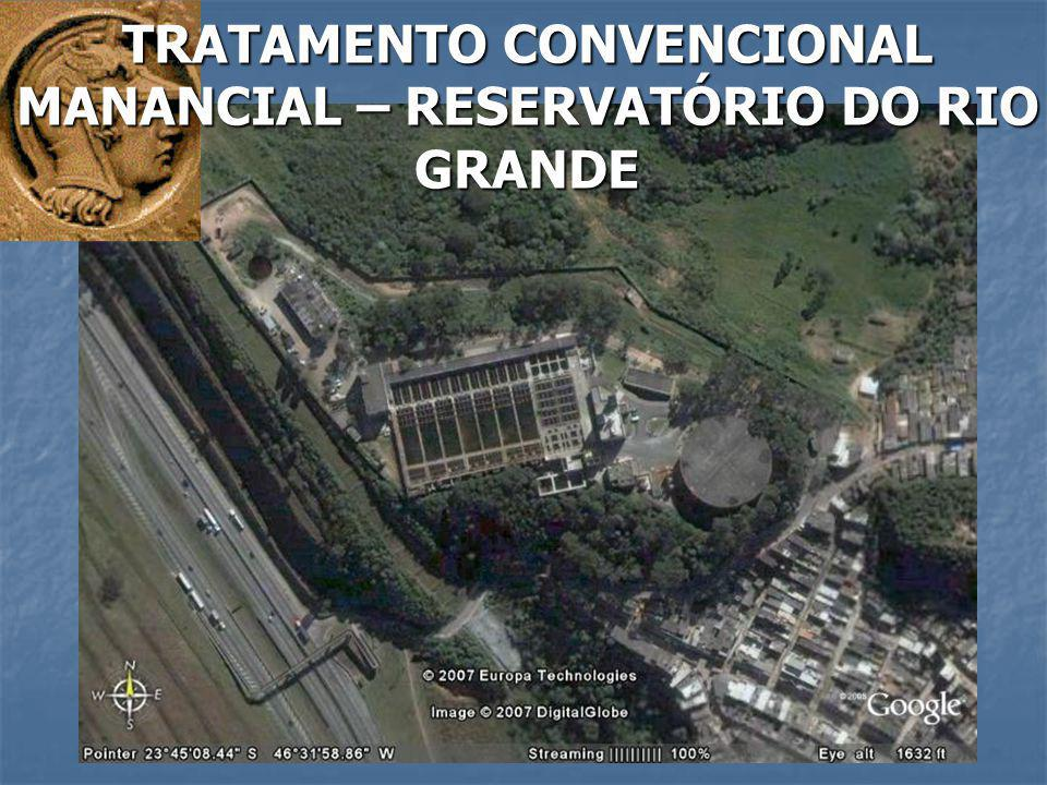 TRATAMENTO CONVENCIONAL MANANCIAL – RESERVATÓRIO DO RIO GRANDE