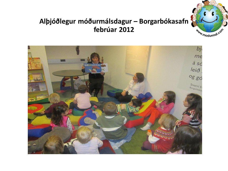 Alþjóðlegur móðurmálsdagur – Borgarbókasafn febrúar 2012