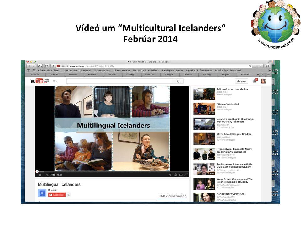 Vídeó um Multicultural Icelanders Febrúar 2014