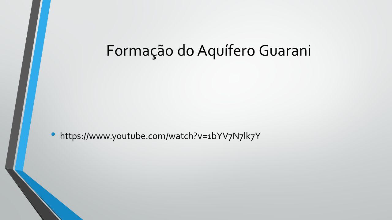 Formação do Aquífero Guarani