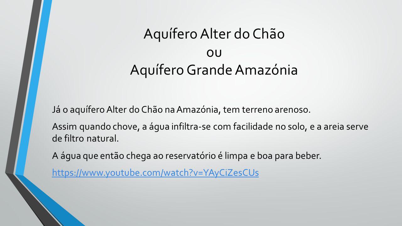 Aquífero Alter do Chão ou Aquífero Grande Amazónia