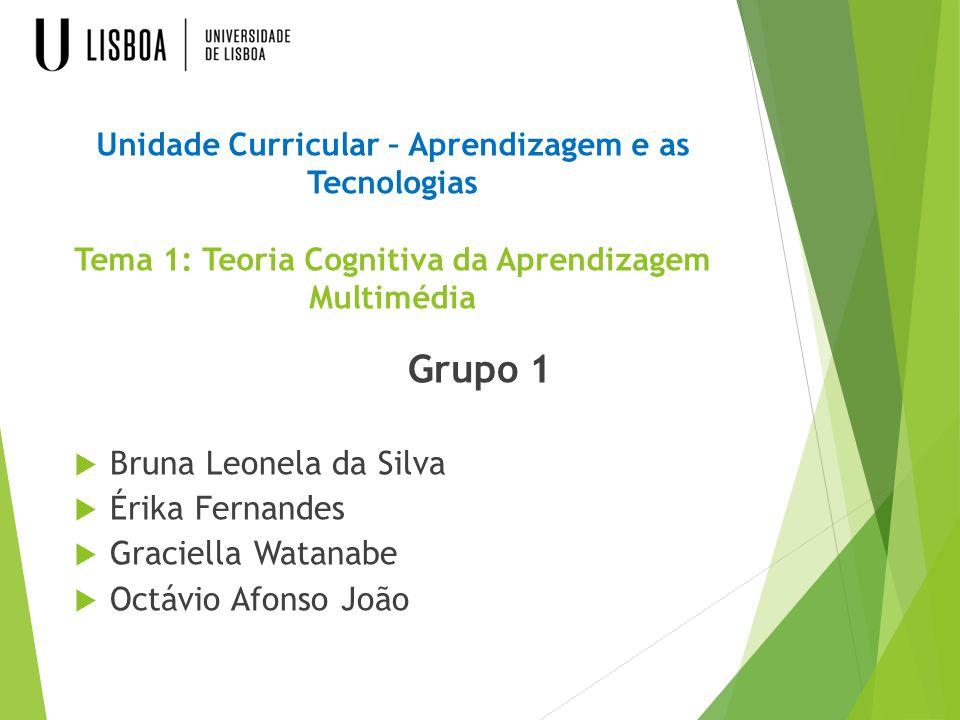 Grupo 1 Bruna Leonela da Silva Érika Fernandes Graciella Watanabe
