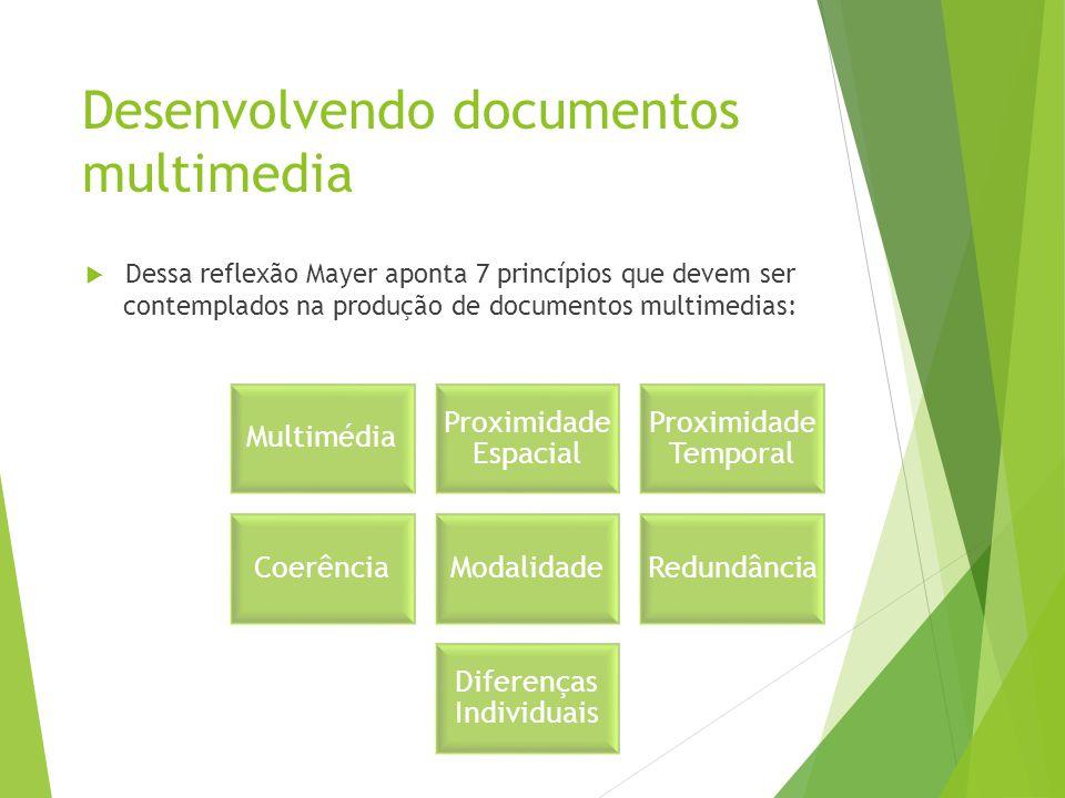 Desenvolvendo documentos multimedia