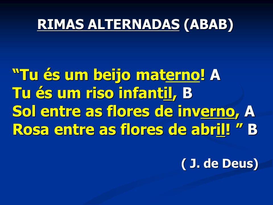 RIMAS ALTERNADAS (ABAB)