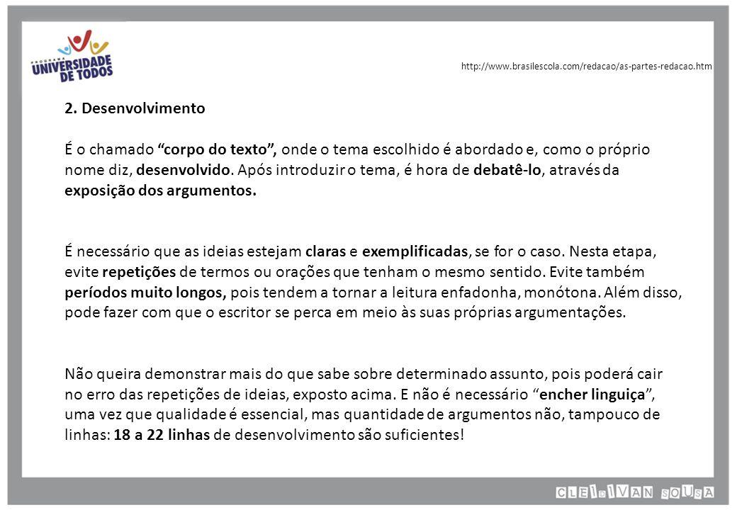 http://www.brasilescola.com/redacao/as-partes-redacao.htm