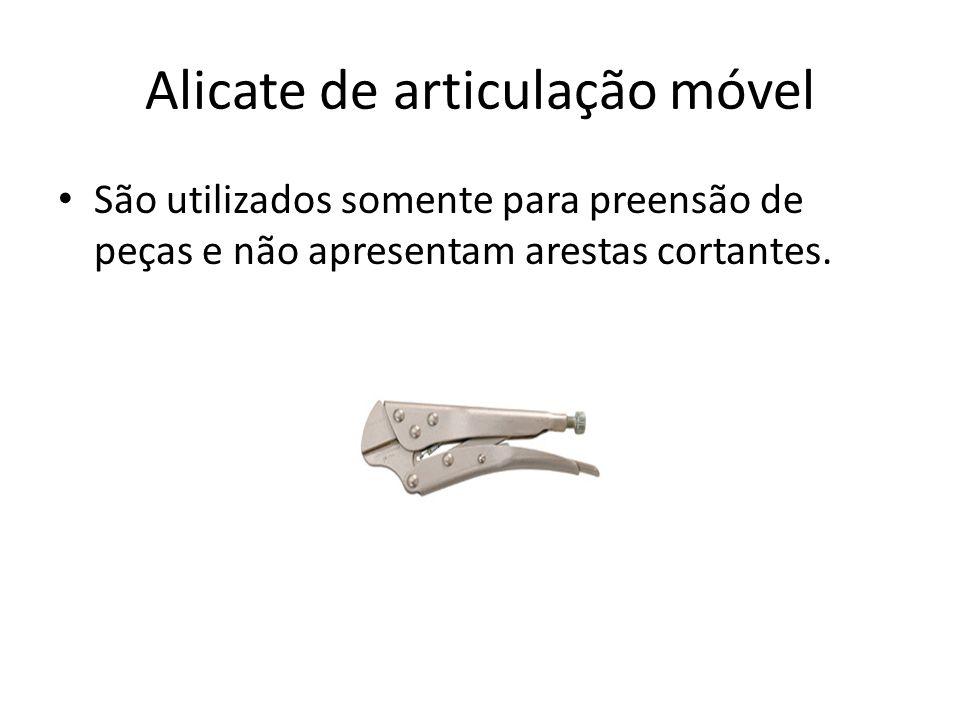 Alicate de articulação móvel