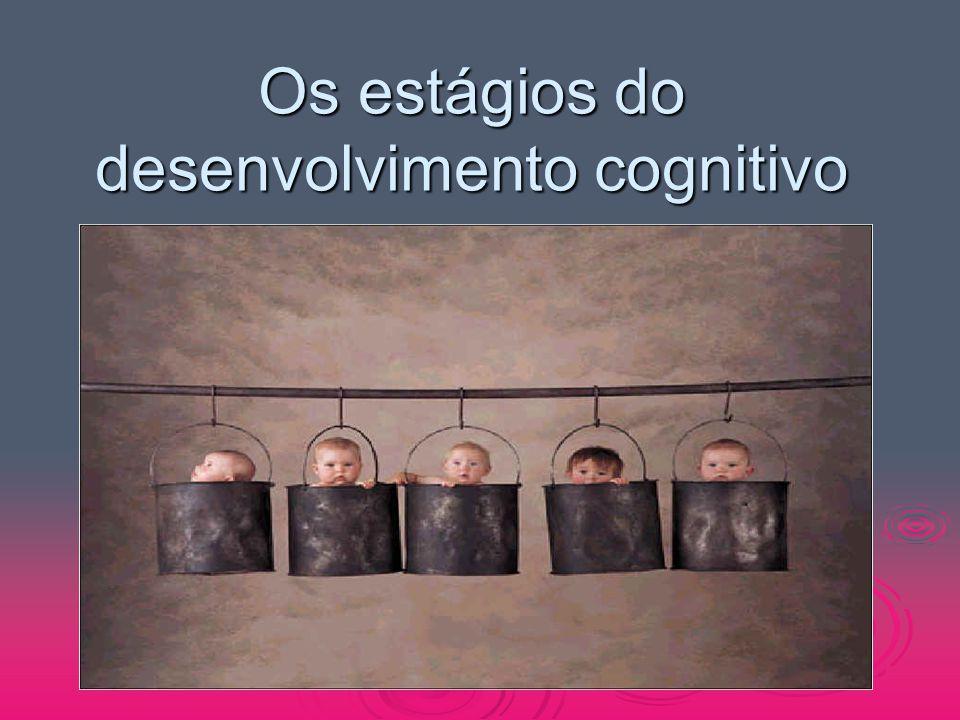 Os estágios do desenvolvimento cognitivo