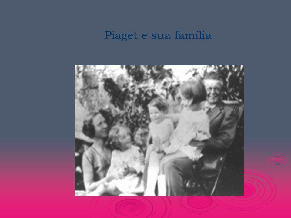 Piaget e sua família