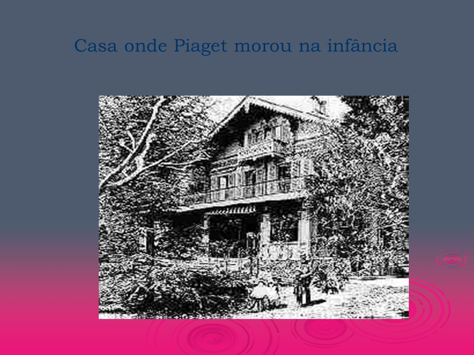 Casa onde Piaget morou na infância