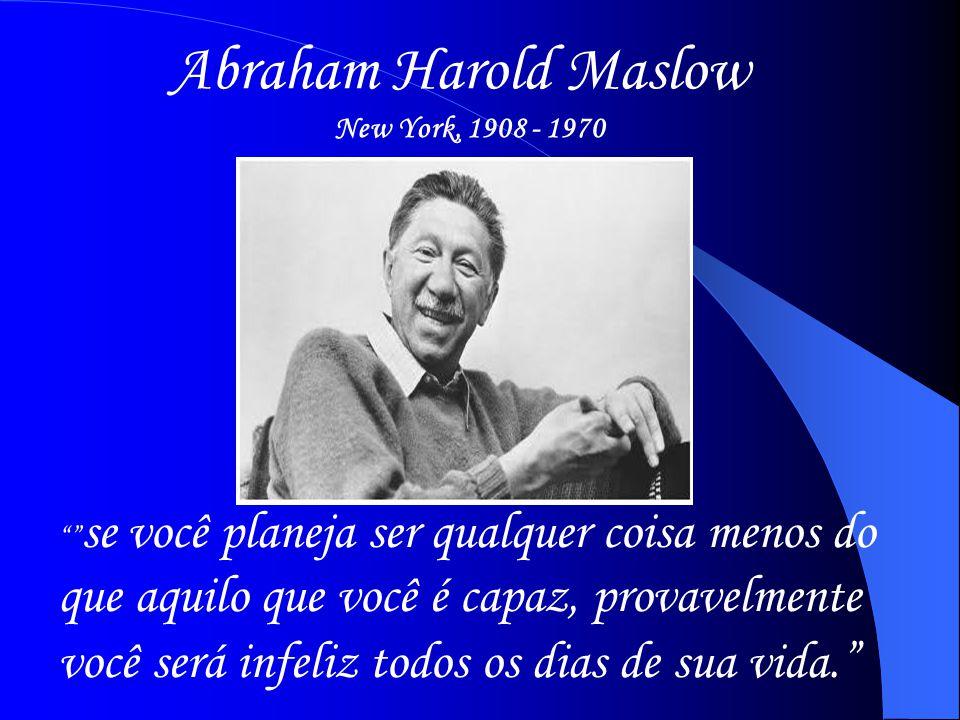 Abraham Harold Maslow New York, 1908 - 1970.