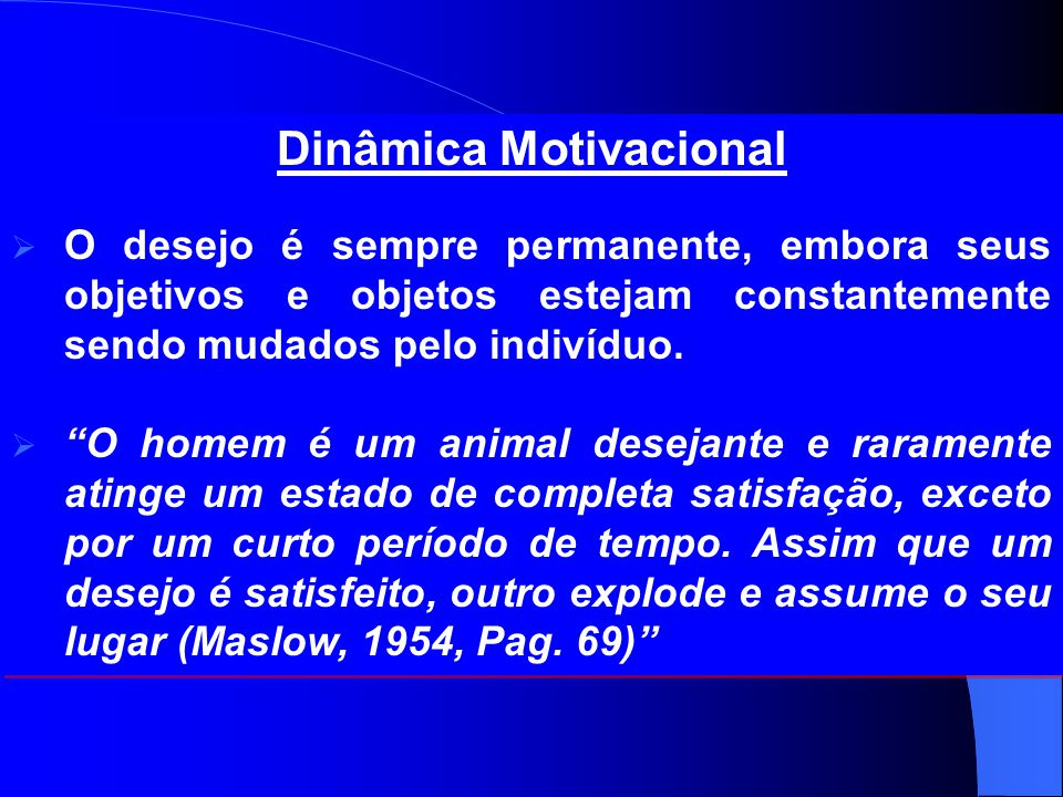 Dinâmica Motivacional