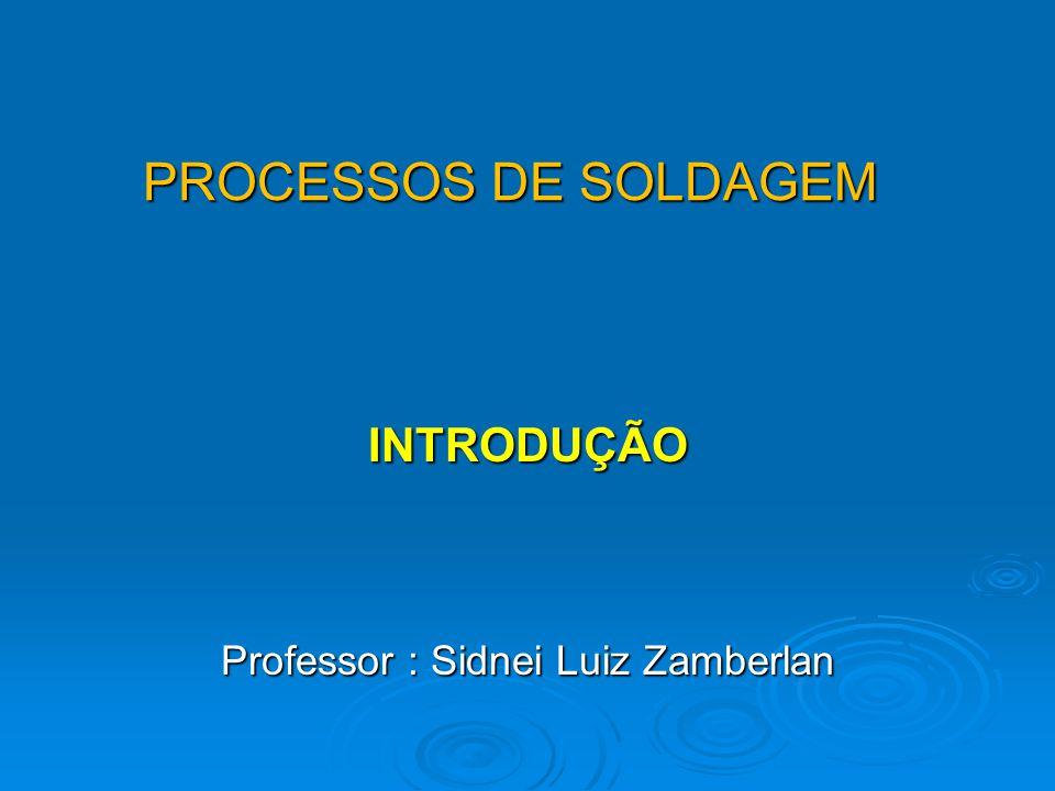 Professor : Sidnei Luiz Zamberlan